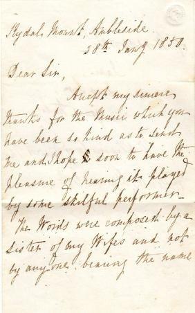 WORDSWORTH WILLIAM: (1770-1850) English Romantic Poet