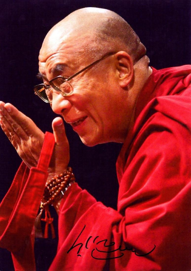 DALAI LAMA: (1935- ) Tibetan Spiritual Leader, Nobel