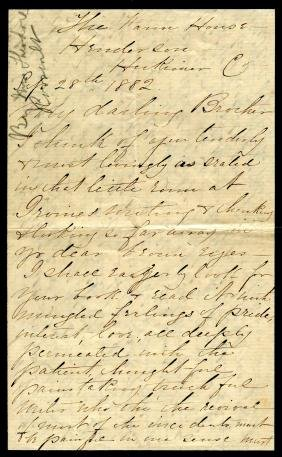 ROOSEVELT MARTHA: (1835-1884) American Socialite,