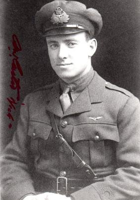 CARTER ALFRED WILLIAM: (1894-1986) Canadian Fighter Ace