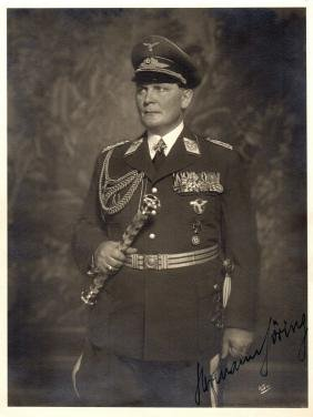 GOERING HERMANN: (1893-1946) German Political and
