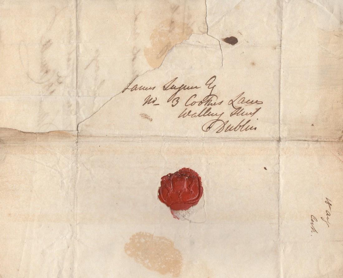 O'CONNELL DANIEL: (1775-1847) Irish Political Leader. - 2
