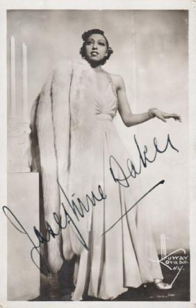 BAKER JOSEPHINE: (1906-1975) French Vedette, Singer &
