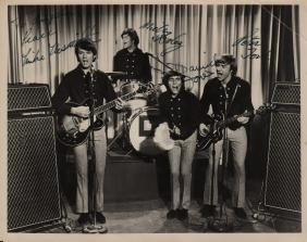 MONKEES THE: An excellent vintage signed and inscribed