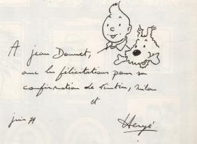 Herge: (1907-1983) Georges Prosper Remi. Belgian