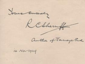 LITERATURE: Selection of signed pieces, cards,