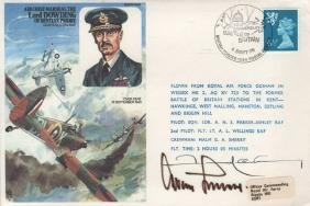 WORLD WAR II: A commemorative cover issued by the Royal