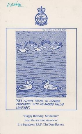 [WALLIS BARNES]: (1887-1979) English Scientist &
