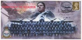 DAMBUSTERS THE: A multiple signed commemorative cover