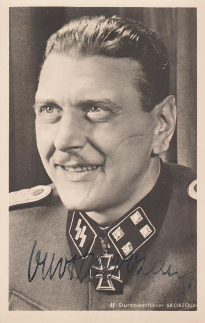 SKORZENY OTTO: (1908-1975) Austrian