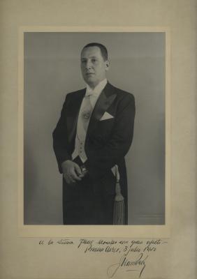 PERON JUAN: (1895-1974) President of Argentina 1946-55
