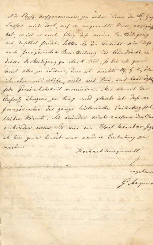 MAGNUS HEINRICH GUSTAV: (1802-1870) - 4
