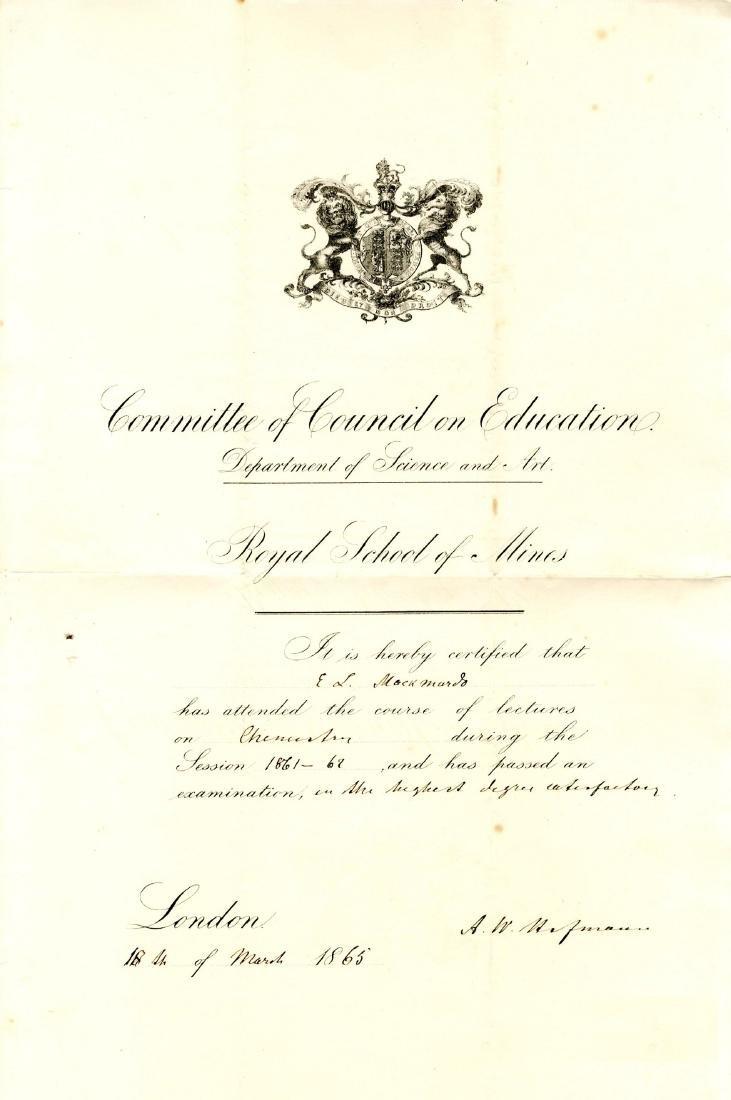 HOFMANN AUGUST WILHELM VON: (1818-1892)