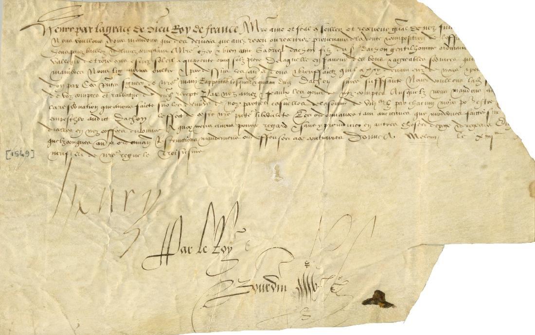 HENRY II OF FRANCE: (1519-1559)