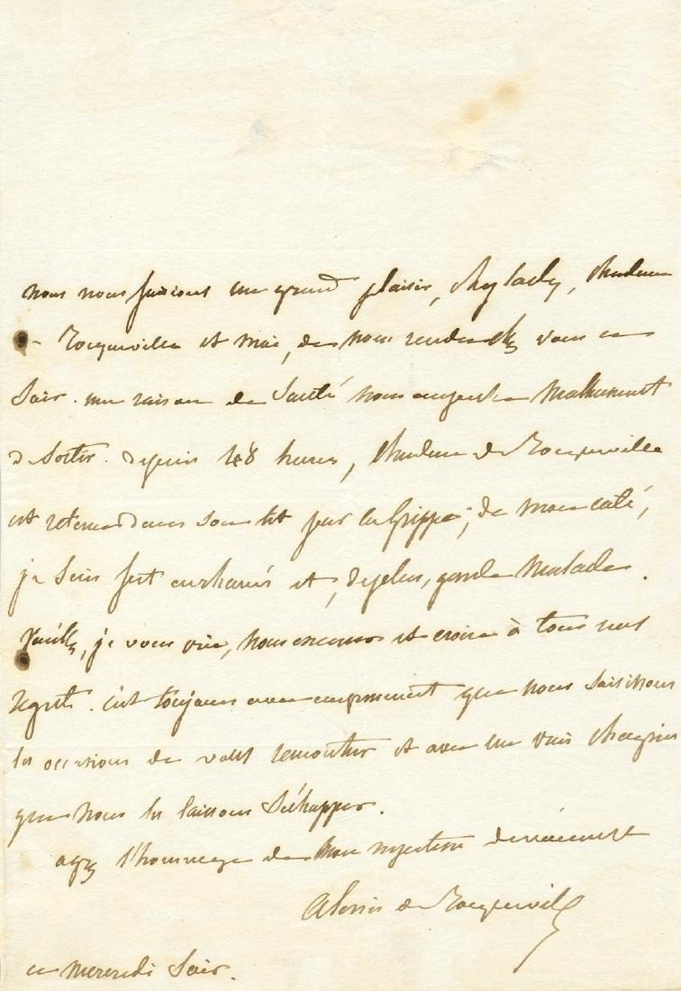 TOCQUEVILLE ALEXIS CHARLES DE: (1805-1859)
