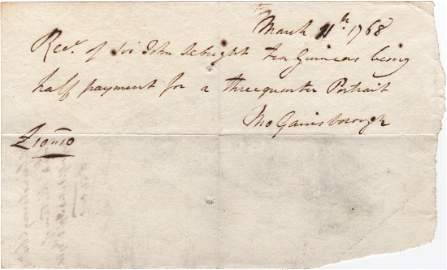 GAINSBOROUGH THOMAS: (1727-1788) English Portrait &