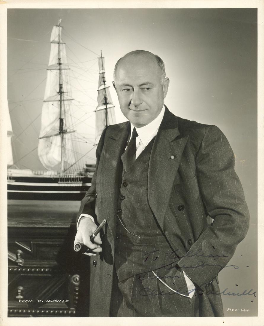 DEMILLE CECIL B.: (1881-1959)