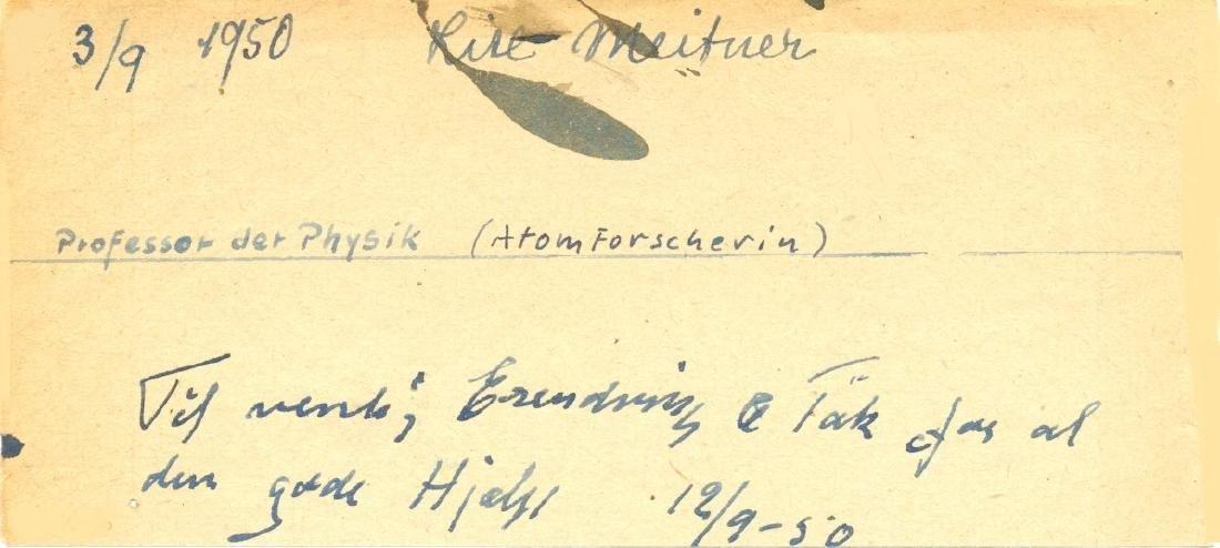 MEITNER LISE: (1878-1968)