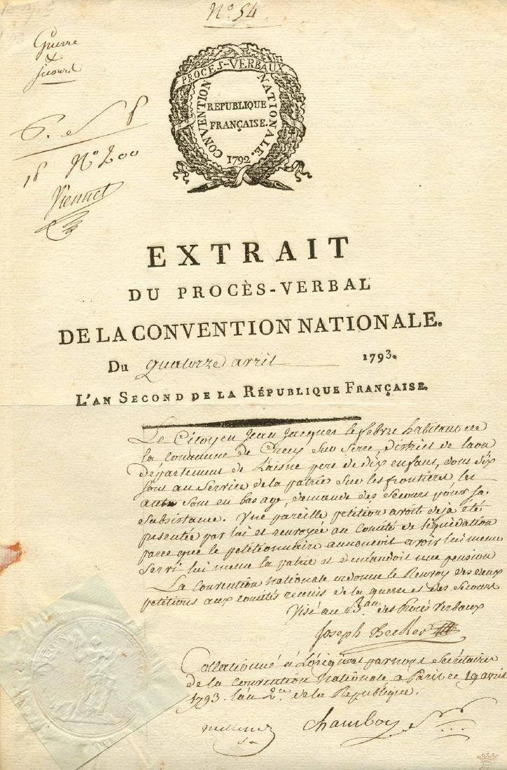 BIGORIE DU CHAMBON AUBIN: (1757-1793)