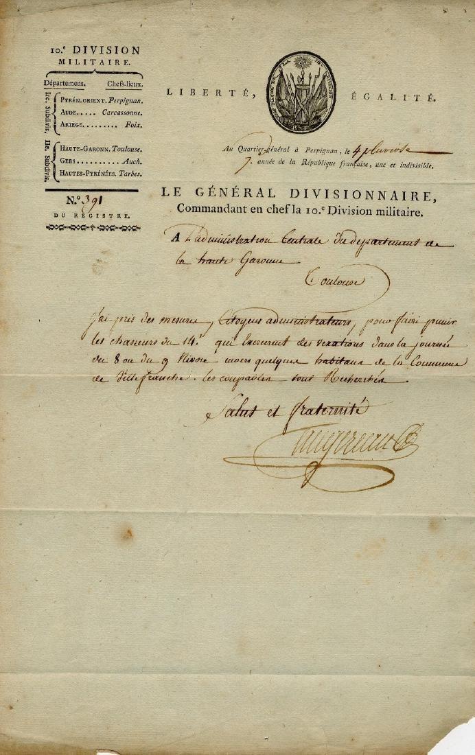 AUGEREAU PIERRE: (1757-1816)
