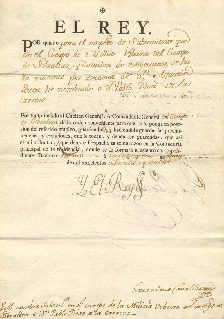 CHARLES IV: (1748-1819)