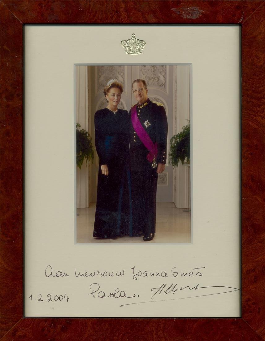 ALBERT II & PAOLA OF BELGIUM: