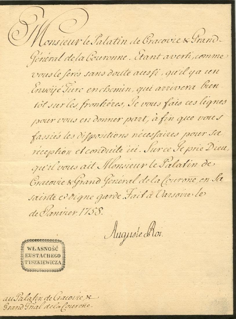 AUGUSTUS III: (1696-1763)