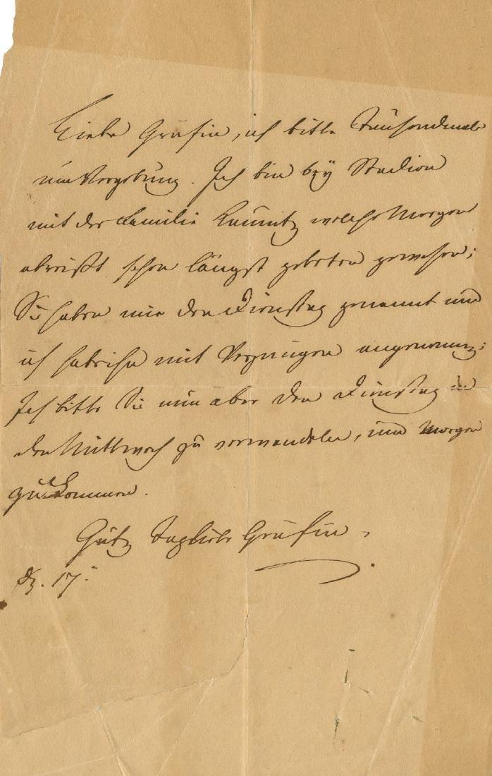 METTERNICH PRINCE KLEMENS VON: (1773-1859)