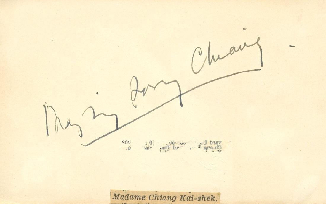 CHIANG MAY-LING SOONG: (1898-2003)