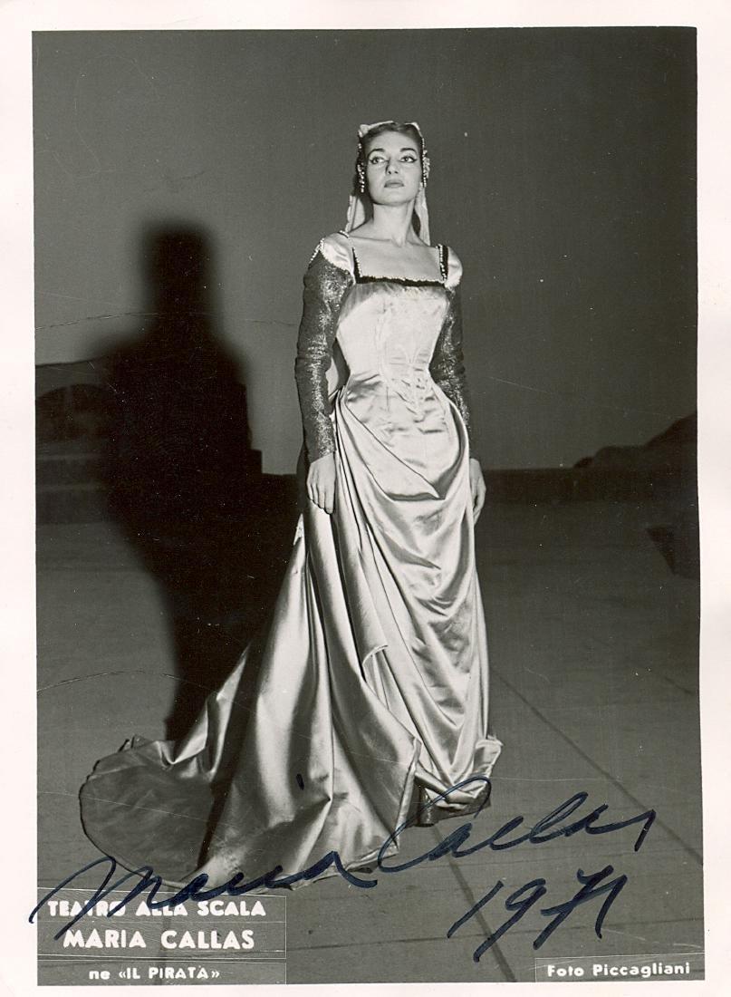 CALLAS MARIA: (1923-1977)