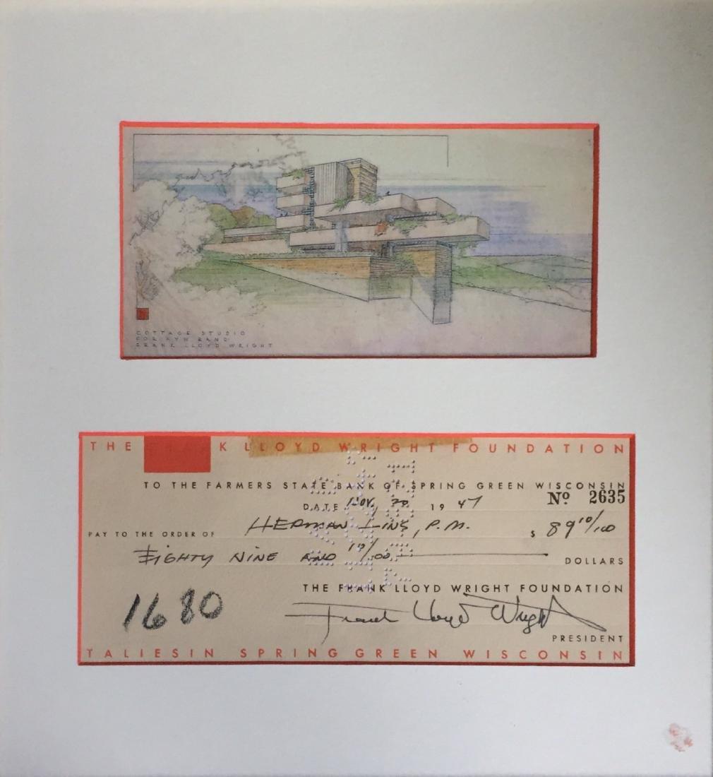 WRIGHT FRANK LLOYD: (1867-1959) - 2