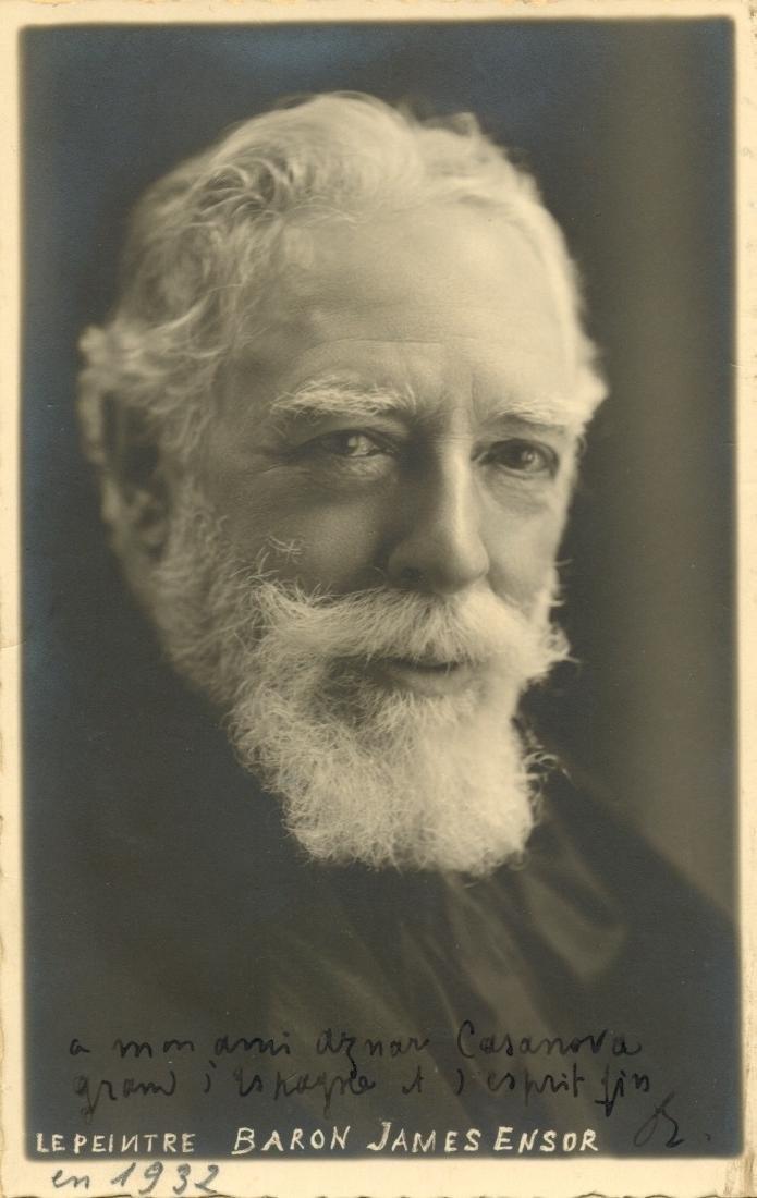 ENSOR JAMES: (1860-1949)