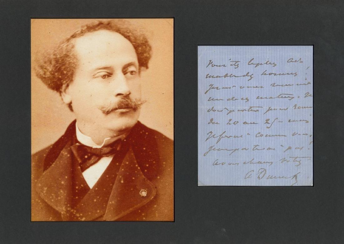 DUMAS ALEXANDRE: Fils (1824-1895)