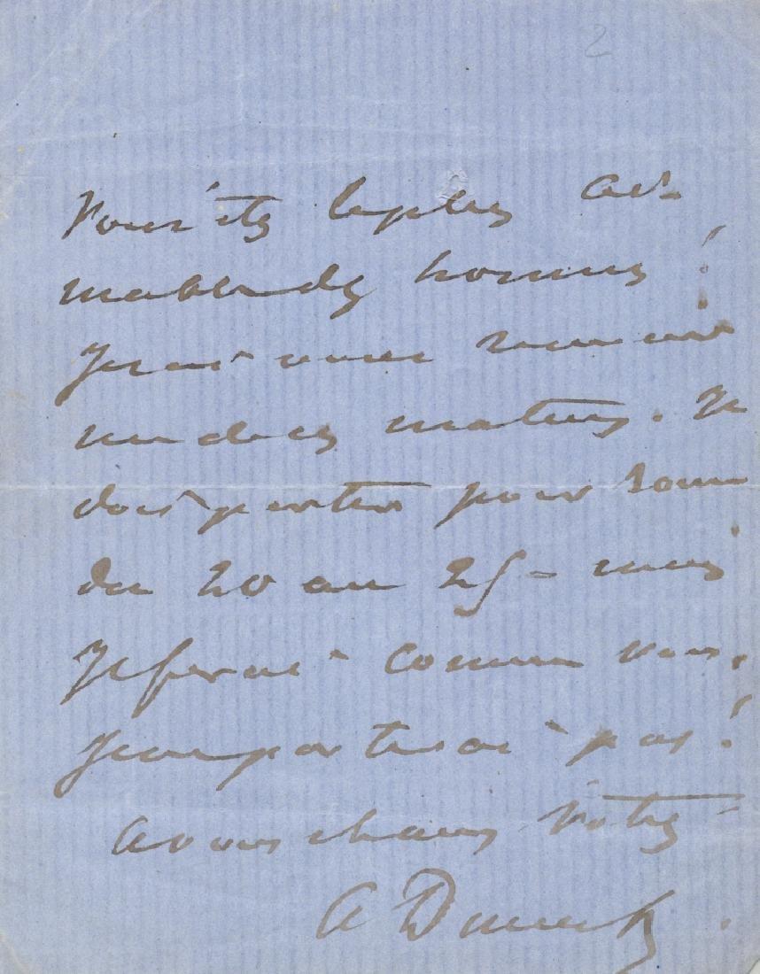 DUMAS ALEXANDRE: Fils (1824-1895) - 2