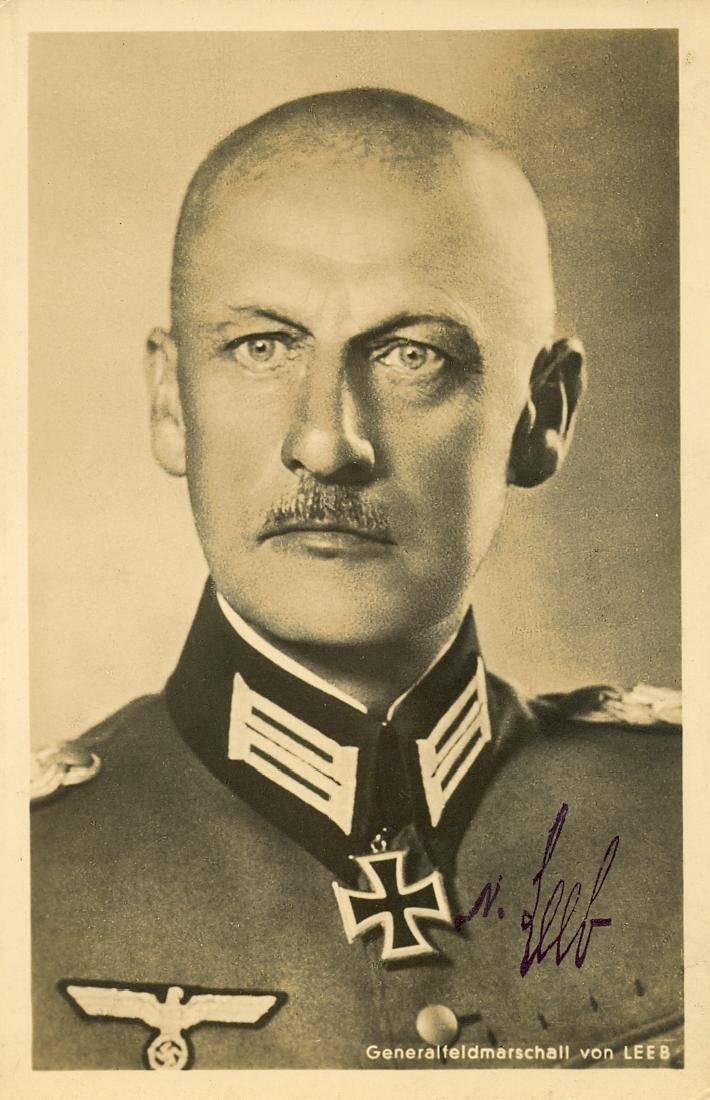 LEEB WILHELM VON : (1876-1956)