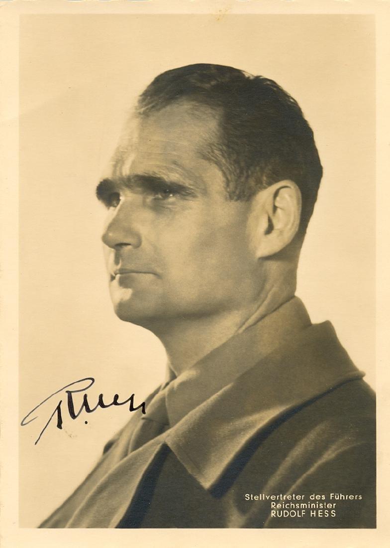 HESS RUDOLF: (1894-1987)