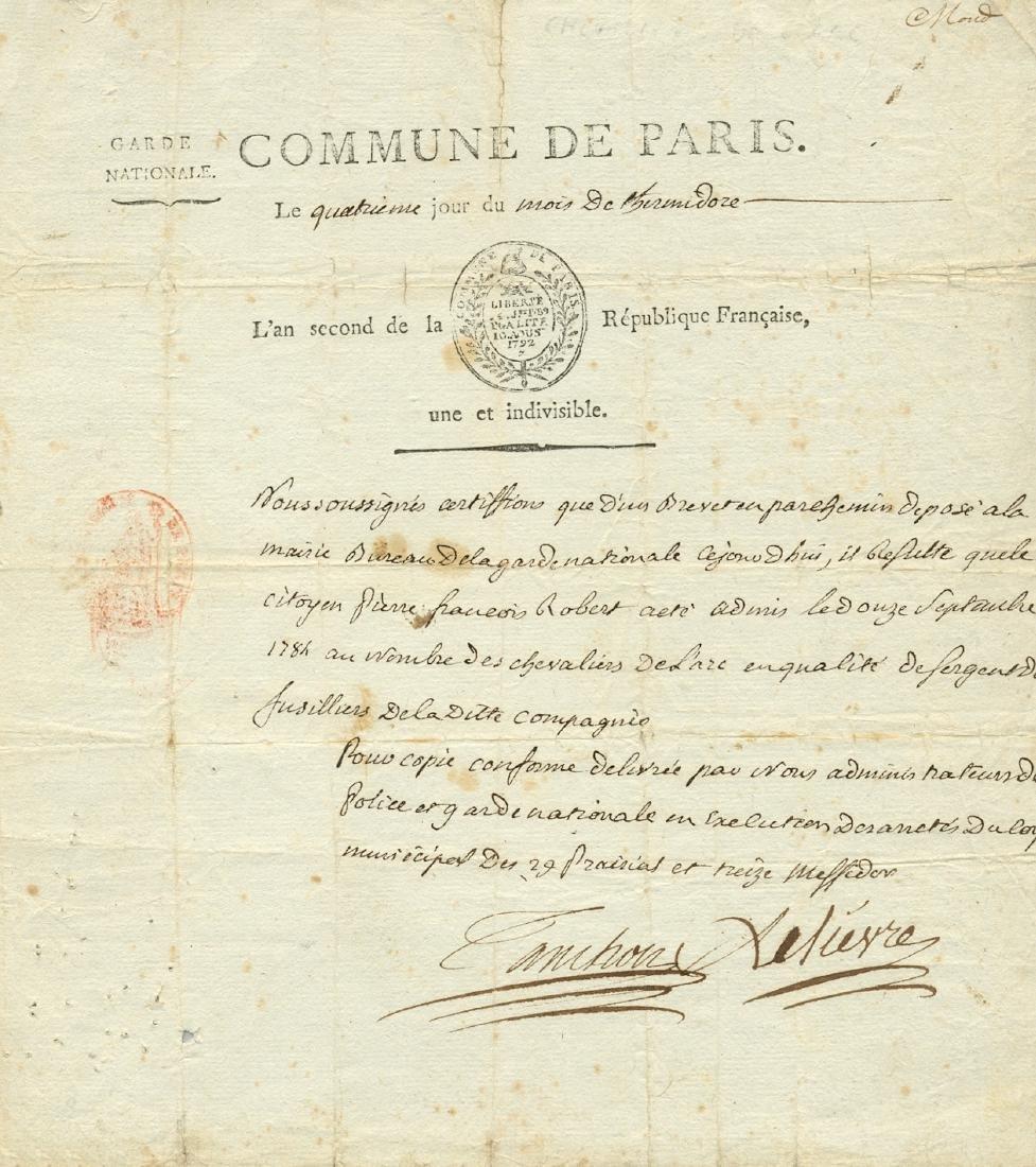 COMMUNE DE PARIS - LELIEVRE & TANCHON: