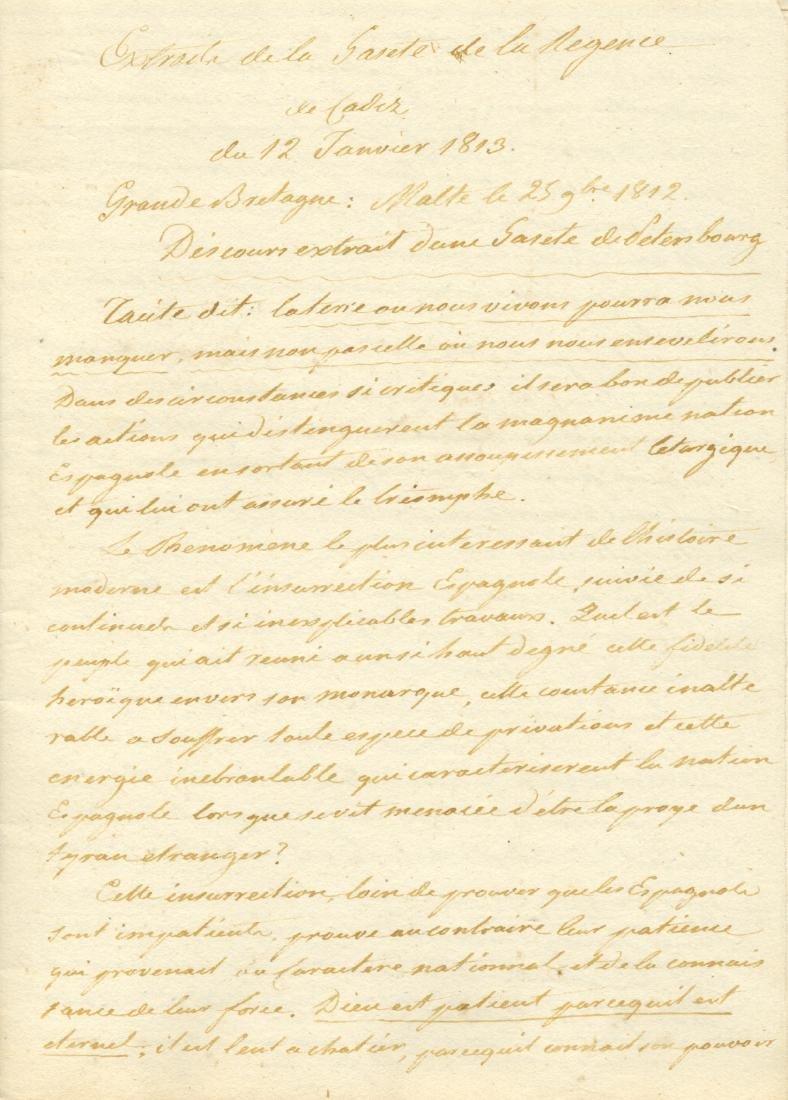 [SOULT NICOLAS JEAN DE DIEU]: (1769-1851)