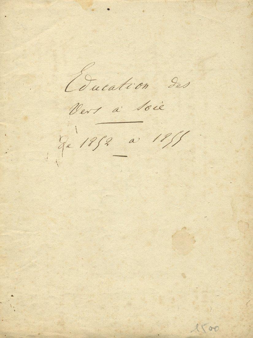 [SILKWORMS 1852]: