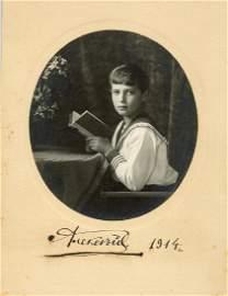 TSAREVICH ALEXEI NIKOLAEVICH: (1904-1918)