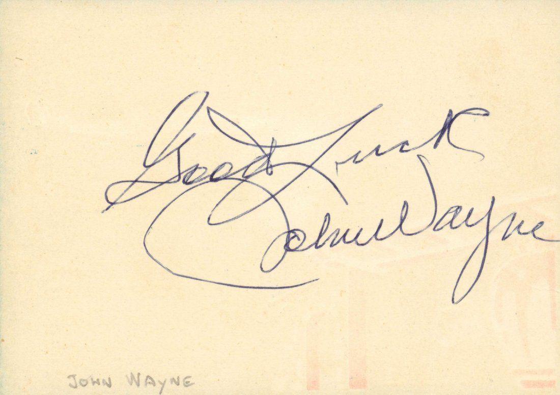 WAYNE JOHN: (1907-1979)