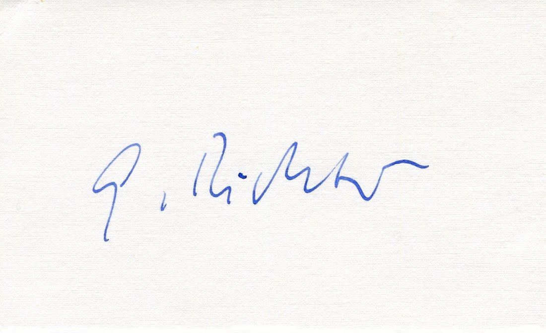 RICHTER GERHARD: (1932- )