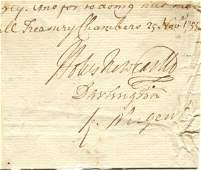 NEWCASTLE DUKE OF: (1693-1768)