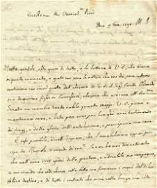 CASANOVA GIACOMO: (1725-1798)