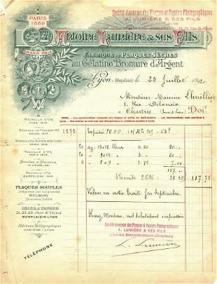 LUMIERE LOUIS: (1864-1948)