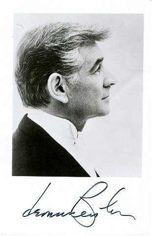 BERNSTEIN LEONARD: (1918-1990)