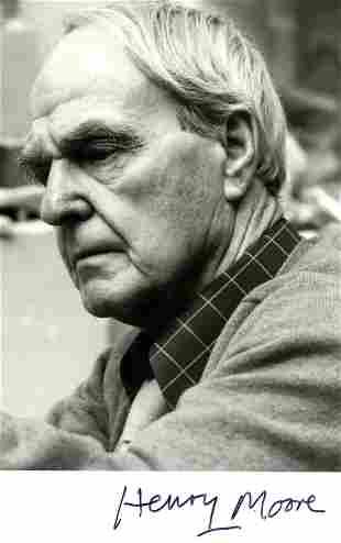 MOORE HENRY: (1898-1986)