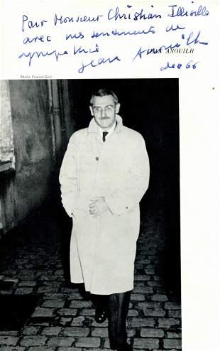 ANOUILH JEAN: (1910-1987)