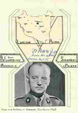 SIKORSKI WLADYSLAW: (1881-1943)
