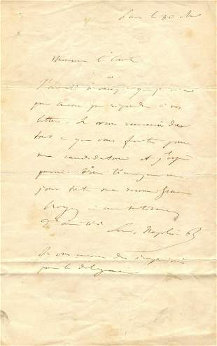 NAPOLEON III: (1808-1873)